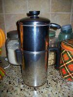 REVERE WARE Vintage 8 Cup Drip-O-Later Percolator Coffee Pot Copper Bottom
