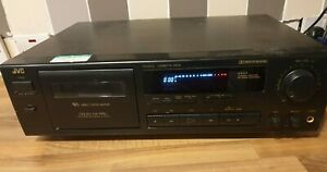 JVC TD-X372 Cassette Deck Tape Player Recorder Vintage 1980s Stack Component