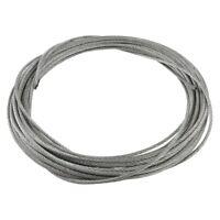 3 mm Diametro corda in acciaio inossidabile flessibile cavo 12 metri di lun V5T6