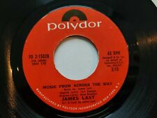 JAMES LAST - Music From Across The Way / Endless Journey 1972 EASY LISTENING POP
