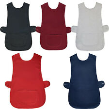 More details for new ladies tabard tabbard apron with pocket plus size big kitchen cleaning chef