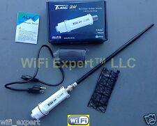 ALFA PoE TUBE 2H + 9dBi Outdoor Antenna Long Range Booster GET FREE INTERNET USA