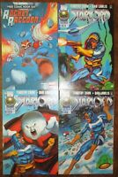 Starlord 1996 Set Rocket Raccoon MARVEL Free Comic Book Day 2014 Scottie Young