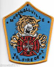 "Marshallville  Fire - E.M.S., OH  ""1878""  (3.5"" x 4.25"" size) fire patch"