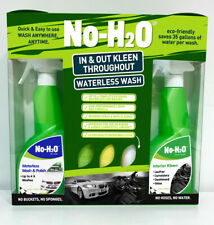 No-H2O Dry Cleaning For Cars eco friendly car wash detailing polish in and out