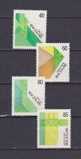 S18083) New Zealand MNH Neu 1987 Textile 4v