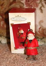 HALLMARK KEEPSAKE ORNAMENT KRIS KRINGLE SANTA CLAUS 2003 CHRISTMAS TREE ORNAMENT