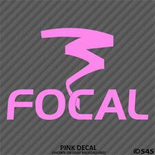 Focal Audio Car Stereo Vinyl Decal Sticker V2 - Choose Color