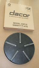 Dacor SimmerSafe Simmer Plate Model ASP10