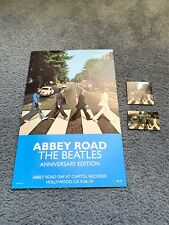The Beatles Abby Road 50Th Anniversary Poster, sticker, Card Hollywood