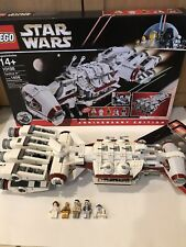 LEGO Star Wars Tantive IV (10198) - 100% complete - Minifigures, Manuals, Box