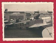 11/753  FOTO FLUGPLATZ  STARTPLATZ FLUGZEUG HALBERSTADT 1935