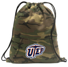 UTEP Cinch Pack Backpack COOL CAMO UTEP Miners Bags FOR SCHOOL OR TRAVEL!