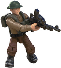 Call of Duty COD Mega Construx FMG15 Legends Allied Soldiers WW2 FIGURE #1 W/LMG