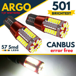 For VW Transporter T5 T6 Canbus Side light Led T5.1 Xenon White 57 Smd Hid Bulbs