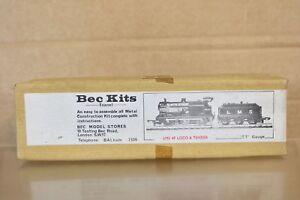 BEC KITS TT GAUGE KIT BUILT LMS 0-6-0 CLASS 4F LOCOMOTIVE & TENDER KIT BOXED
