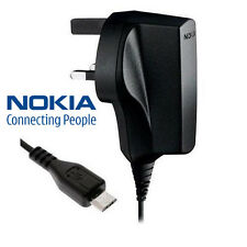 Genuine Nokia Lumia 510 600 700 710 800 900 1020 Micro USB cargador de red AC-6X