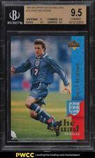 1997 Upper Deck England Soccer David Beckham #18 BGS 9.5 GEM MINT