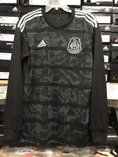 Adidas Mexico Black Jersey (playera De Mexico ) Long Sleeve Size XL    Only