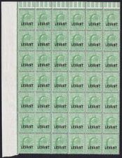 Mint Never Hinged/MNH British Levantine Edward VII (1902-1910) Stamps
