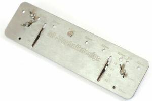 Bohrlehre ES 32 System lochreihe bohrschablone 32 mm Dübelleiste Regalböden