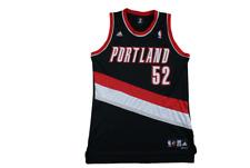 Maillot basket rétro Trail Blazers Portland N°52 Oden NBA