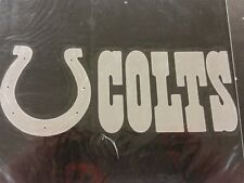 NFL Indianapolis Colts Professional Window Graphics, New