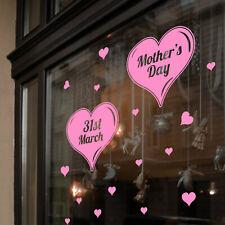 De la Madre Día Pared & Ventana Pegatinas Mamá Calcomanías Tienda Pantalla A343