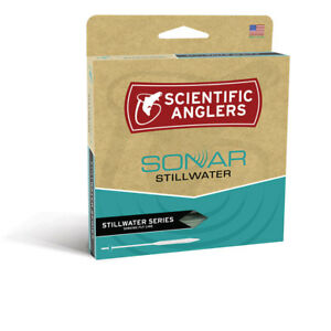 SCIENTIFIC ANGLERS SONAR STILLWATER CLEAR CAMO WF-6-I INTERMEDIATE SINK FLY LINE