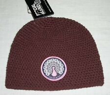 New Special Blend Womens Winter Ski Knit Beanie Spilling Hat Maroon