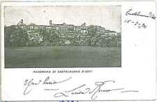 CARTOLINA d'Epoca ASTI provincia - Castelnuovo D'Asti 1901