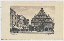 AK  Paderborn Rathaus, gel.  (R702)
