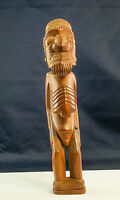 Easter Island  Hand Carved Wood Moai Kava Kava / Rapa Nui -Vintage-Collectible