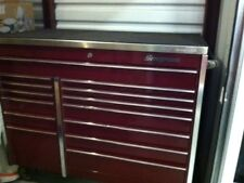 Snap On Master Series Roll Cab/Stainless Steel Topper (14 drawer)
