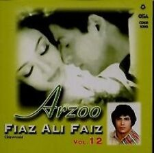 FAIZ ALI FAIZ  - ARZOO - NEW SOUND TRACK CD SONGS - FREE UK POST
