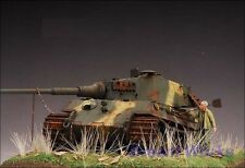 AwardWinner Built Dragon 1/35 King Tiger Henschel Diorama +Figures +PE