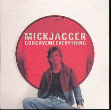 Mick Jagger (Rolling Stones) God Gave Me Everything PROMO Import EU CD Single