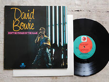 """David Bowie – Don't Be Fooled By The Name - Vinyl LP, 10"""""""