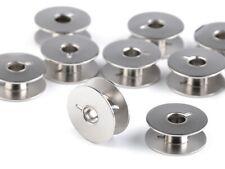 10 Spulen für Veritas Nähmaschinen Metall Nähmaschinenspulen Garnspule