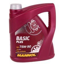 4 Liter Mannol Basic Plus 75W-90 Getriebeöl API GL-4+ GL4+ VW 501.50 MIL-L 2105