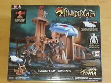 THUNDERCATS TOWER OF OMENS W/ EXCLUSIVE TYGRA FIGURE BANDAI MINT IN BOX,FREE SH