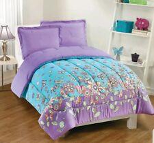 """Gizmo Kids Butterfly Dreams 2 Piece Comforter Set Twin Teal Purple 5' 6"""" × 7' 2"""""""