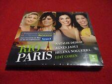 """CD DIGIPACK NEUF """"RIO PARIS"""" Nathalie DESSAY, Agnes JAOUI, Helena NOGUERRA"""