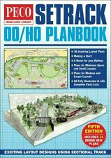 OO/HO Setrack Planbook 5th edition - Peco publications STP-00
