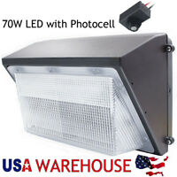 70W 100W 125W LED Wall Pack Security Light Fixture For Outdoor Warehouse Lights