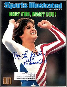 Mary Lou Retton Signed Auto Sports Illustrated August 13th, 1984 100% GUARANTEED