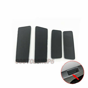 4PCS Door Switch Bezel Mat Rear& Front & Left & Right  For 11-15 Chevrolet Cruze