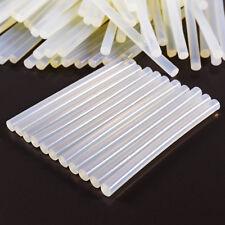 100 Barras de pegamento Adhesivo termofusible Blanco Silicona Recambio Pistola