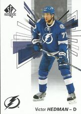 Victor Hedman #63 - 2016-17 SP Authentic - Base