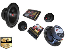 "NIB CDT AUDIO HD-62 2-WAY 6.5"" HIGH DEF CAR AUDIO COMPONENT SET FREE GIFT LOOK!!"